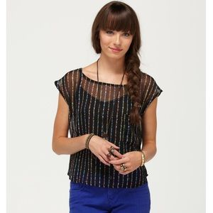 Roxy Silver Spur Top—S